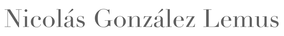 Nicolás González Lemus